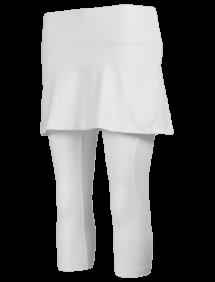 Капри с юбкой Babolat Core W (Белый 1000)