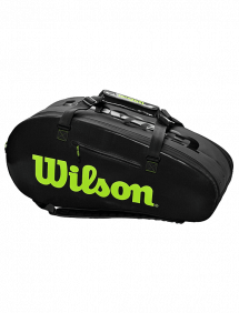Сумка Wilson Super Tour 2 Comp Large 9R (Угольный)