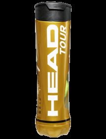 Теннисные мячи Head Tour x4