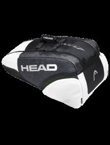 Сумка Head Djokovic 9R Supercombi (Черный/Белый)