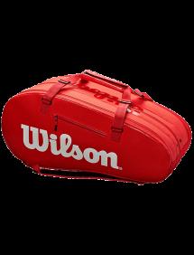 Сумка Wilson Super Tour 3 Comp 15R (Красный)