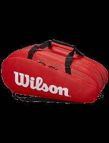 Сумка Wilson Tour 3 Comp 15R (Красный)