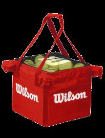 Корзина для мячей Wilson Teaching Cart 150 Red, без ножек