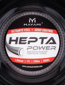 Струны для тенниса Mayami Hepta Power 200m