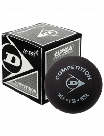Мячи для сквоша Dunlop Competition 1x-Yellow