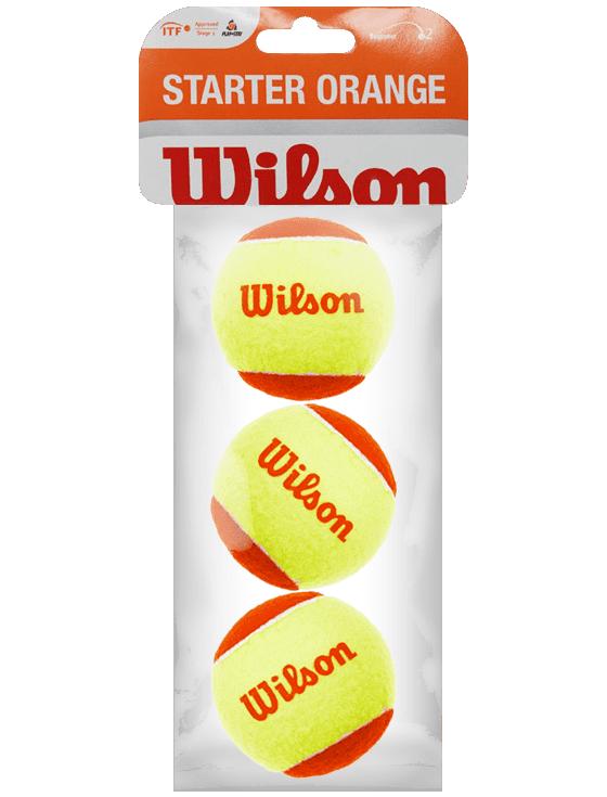 Теннисные мячи Wilson Starter Orange x3 Pack
