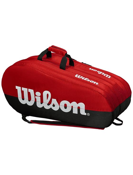 Сумка Wilson Team 3 Comp 15R (Черный/Красный)