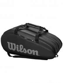 Сумка Wilson Tour 3 Comp 15R (Черный/Серый)