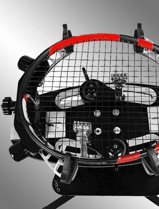 Большой теннис:  натяжка струн