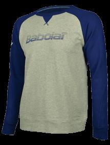 Футболка утепленная Babolat Core B (Меланж Серый 3002)