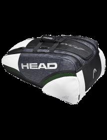 Сумка Head Djokovic 12R Monstercombi (Черный/Белый)