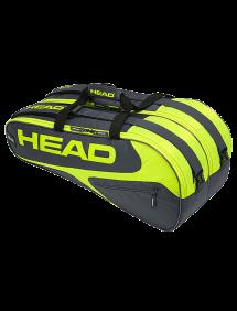 Сумка Head Elite 9R Supercombi (Серый/Желтый)