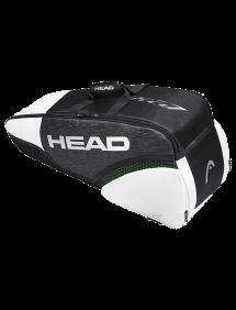 Сумка Head Djokovic 6R Combi (Черный/Белый)