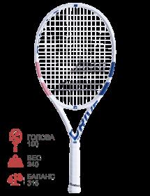 Ракетка для тенниса Babolat Pure Drive Junior 25 Girl