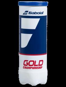 Теннисные мячи Babolat Gold Championship x3
