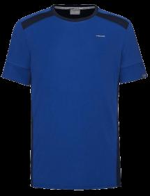 Футболка Head Uni M (Синий/Темно-синий)