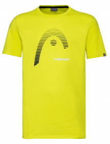 Футболка Head Club Carl Junior B G (Желтый)