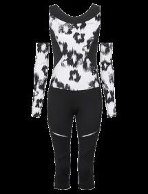 Костюм Head Performance Catsuit W (Черный/Белый)