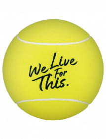 "Мяч Babolat Jumbo Ball ""We Live For This"" (Желтый)"