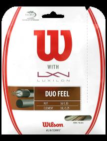Струны для тенниса Wilson Duo Feel 12m