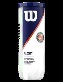 Теннисные мячи Wilson Roland Garros All Court x3