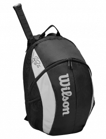Рюкзак Wilson Roger Federer Team Backpack (Черный)