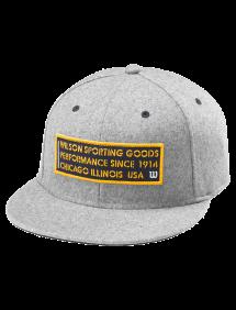 Кепка Wilson Since 1914 Hat (Светло-серый)