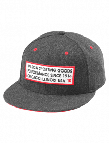 Кепка Wilson Since 1914 Hat (Темно-серый)