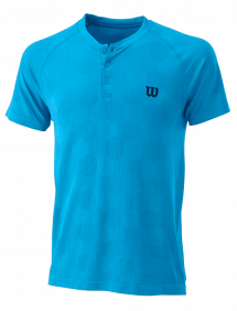 Поло Wilson Power Seamless Henley M (Coastal Blue)