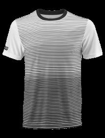 Футболка Wilson Team Striped Crew M (Black/White)