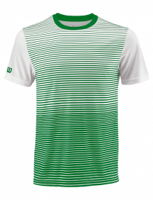 Футболка Wilson Team Striped Crew M (Toucan/White)