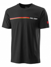 Футболка Wilson Pro Staff Tech Tee M (Black)