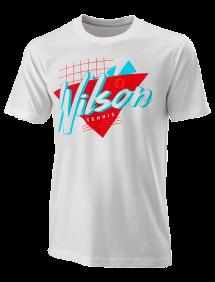 Футболка Wilson Nostalgia Tech Tee M (White)