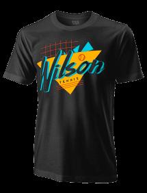 Футболка Wilson Nostalgia Tech Tee M (Black)