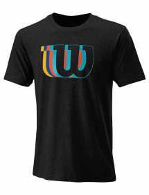 Футболка Wilson Blur-W Tech Tee M (Black)