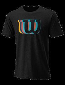 Футболка Wilson Blur-W Tech Tee M (Black)