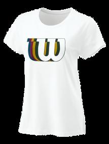 Футболка Wilson Blur-W Tech Tee W (Ivory)