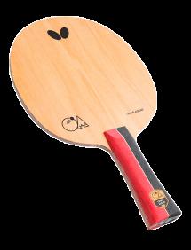 Ракетка для настольного тенниса сборная Butterfly Omar Assar, накладки Tenergy 05 FX