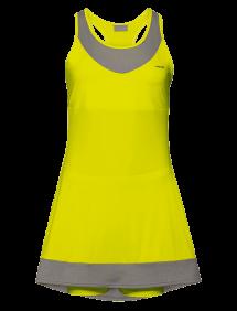 Платье Head Demi G (Желтый/Серый)