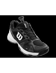 Кроссовки детские Wilson Rush Pro JR QL (Black/White/Black)