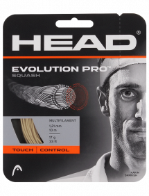 Струны для сквоша Head Evolution Pro Reel 10m