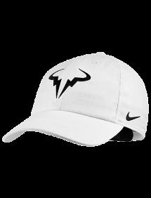 Кепка Nike Court AeroBill H86 Rafa Tennis Hat (Белый)