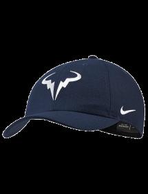 Кепка Nike Court AeroBill H86 Rafa Tennis Hat (Обсидиан)