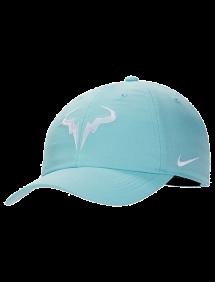 Кепка Nike Court AeroBill H86 Rafa Tennis Hat (Голубой)