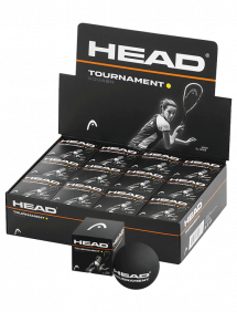 Мячи для сквоша Head Tournament Squash Ball 12 (12x1)