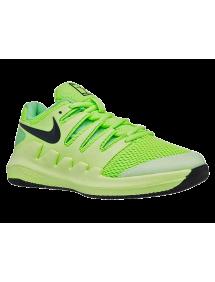 Кроссовки детские Nike Court Jr. Vapor X (Зеленый)