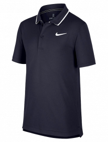 Поло Nike Court Dri-FIT B (Обсидиан)
