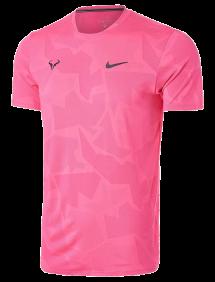Футболка Nike Rafa Court AeroReact M (Розовый)