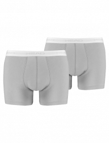 Трусы Head Basic Boxer 2pair (Серый)