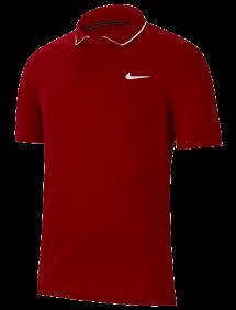 Поло Nike Court Dry M (Бордовый)